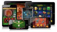 illustration jeux de casino mobile tablette